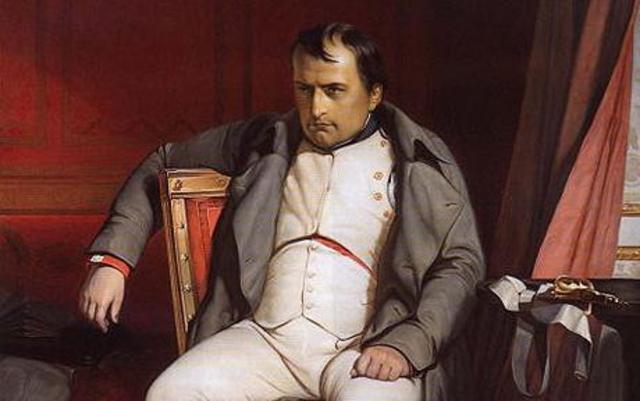 Napoleon Bonaparte Empire fell
