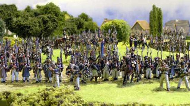 The suffering of Napoleon's men (December)