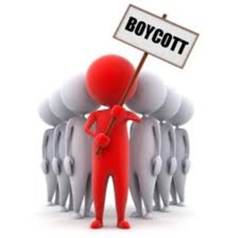 The Official Boycott Begins