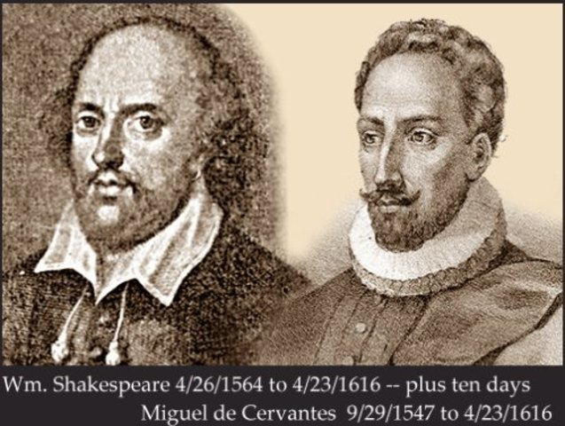 Death of Shakespeare and Cervantes