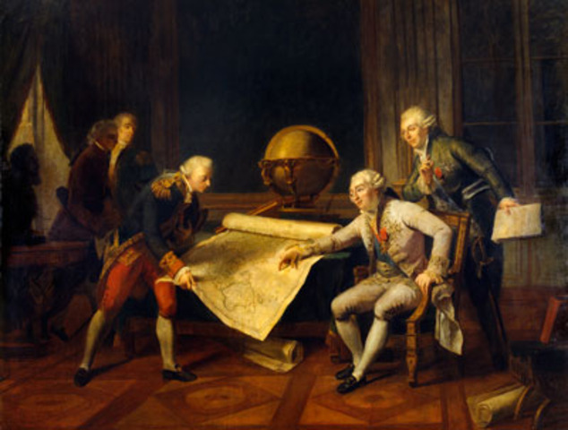 Meeting with Louis XVI