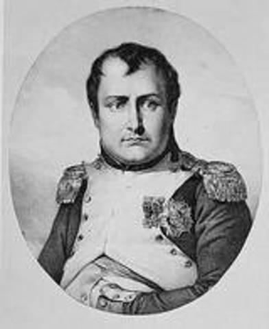 Napoleon finished school.