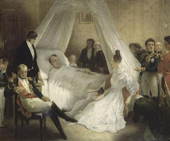 Napoleon Dies.