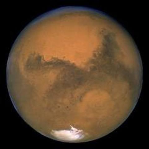 Sent probes to Mars.