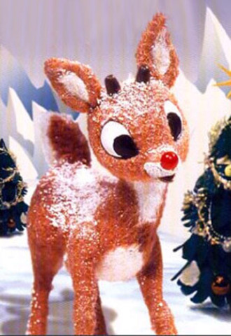 Rudolph The Red Nosed Reindeer first appeared on TV.