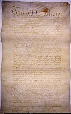 Ratification of Articles of Confederation