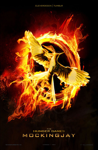 *Mocking Jay (Hunger Games last book)