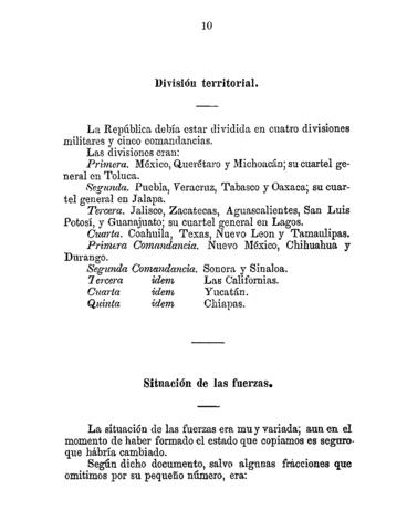 El decreto de la división territorial