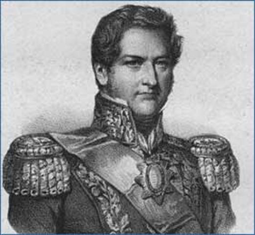 La caida de Juan Manuel de Rosas