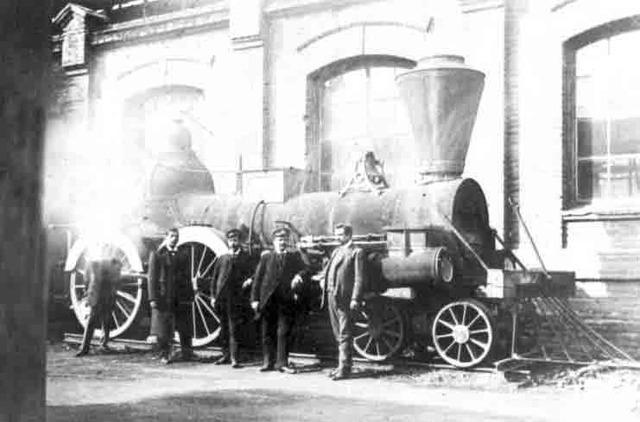 Inauguración del ferrocarril entre Copiapó y Caldera