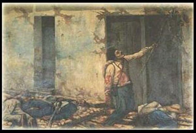 La Primera Batalla de Rivas