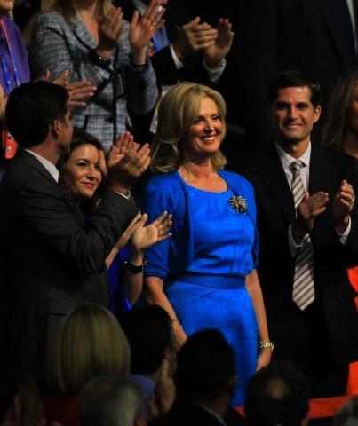Ann Romney holder tale
