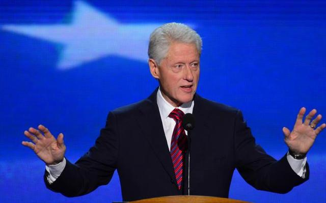 Bill Clinton taler