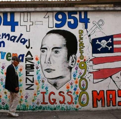 Golpe de estado en Guatemala.