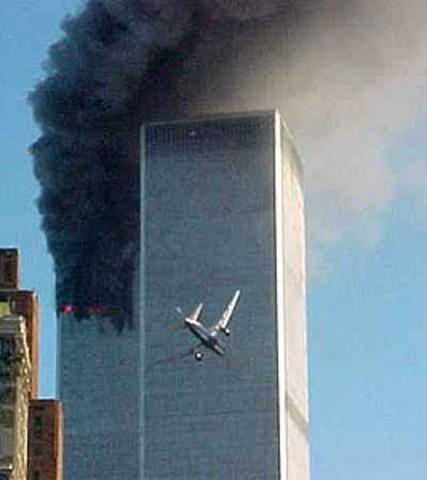Atentado contra las Torres Gemelas y el Pentagono.