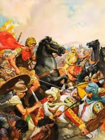 The Battle of the Hydaspes