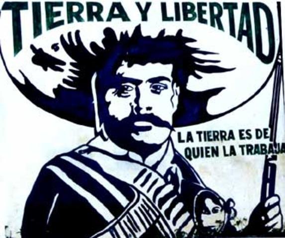 Alzamiento del EZLN en México.