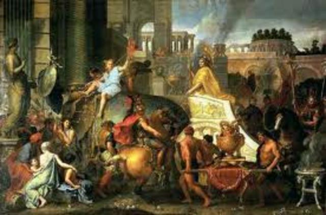 Alexander the Great dies