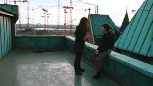 Auf das Dach