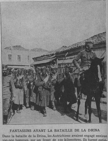 Battle of Drina.