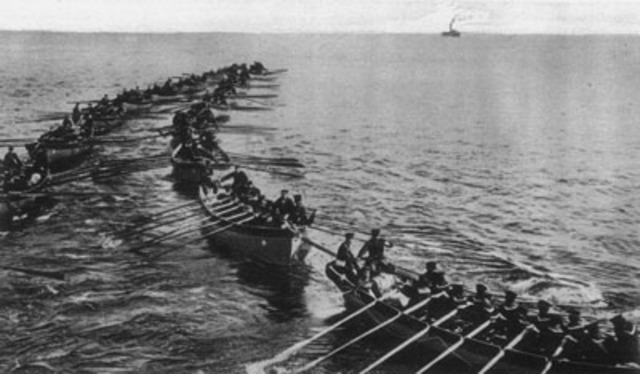 Naval Operations in the Siege of Tsingtao begin.