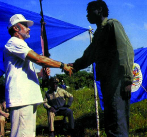 Acuerdo de la Mision en Suriname