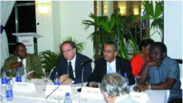 Llegada Consejeros Haití