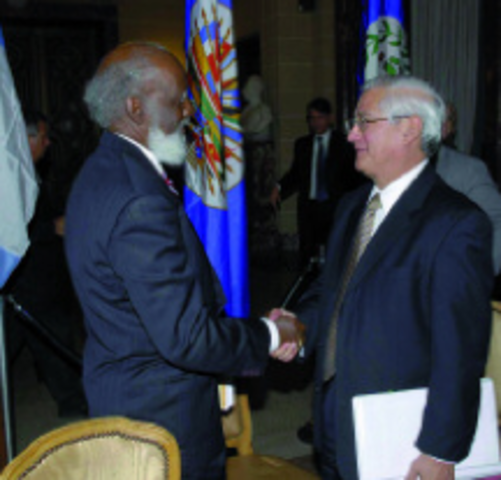Reunión Cancilleres Belize Guatemala