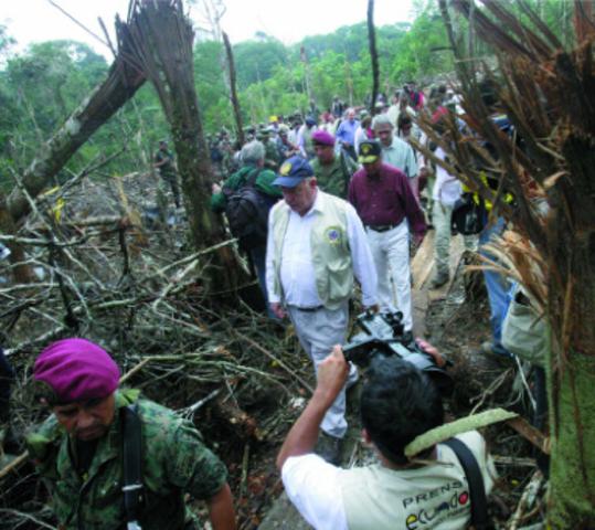 Crisis Colombia Ecuador