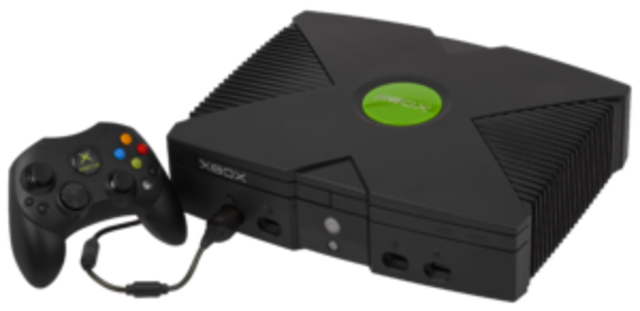 First generation xbox