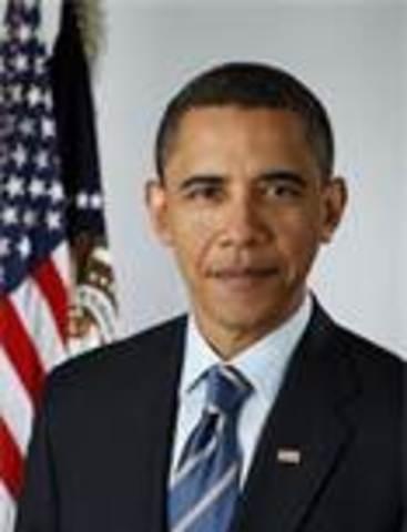 Barack Obama takes office as- POTUS