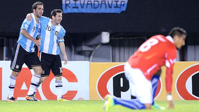 Argentina 4 - 1 Chile