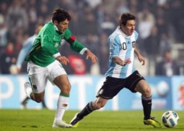 Argentina 1 - 1 Bolivia