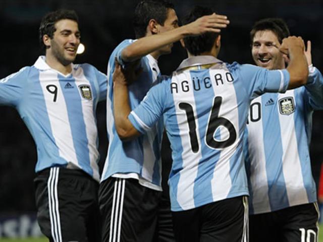 Argentina 4 - 0 Ecuador