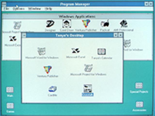 Windows 3.0–Windows NT