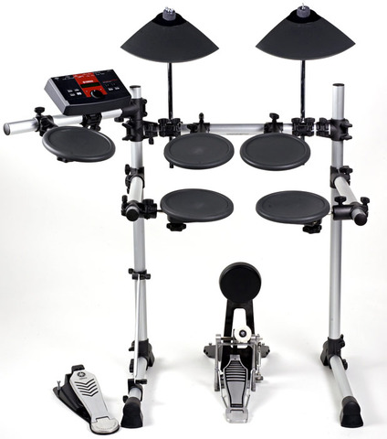 Played First Electronic Drumset