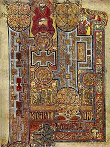 The Book of Kelles is first copied