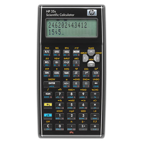 Primera calculadora científica (HP-35) Packard.