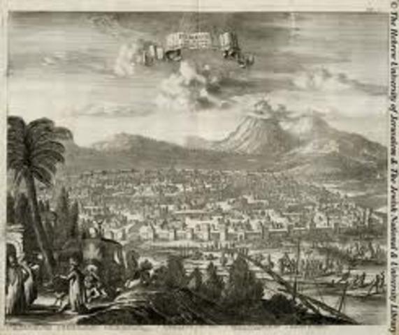 Damascus becomes center of Islam world.