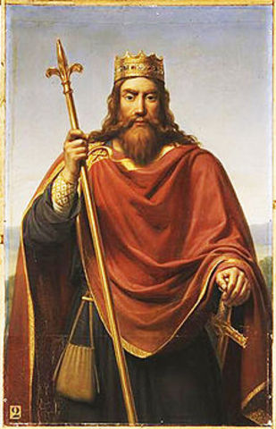 King Clovis I becomes first king of the franks.