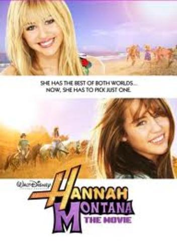 Hannah Montana: La Película, todo un exito