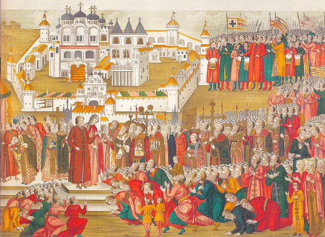 The beginning of the Romanovs.
