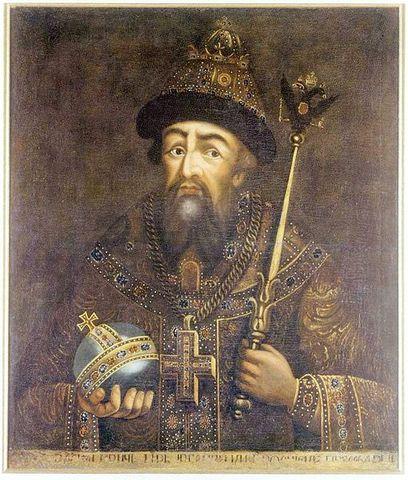 Ivan The Terrible and Anastasia Zakharynia