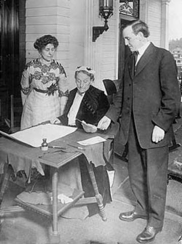 Women's Suffrage in Oregon