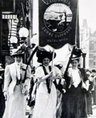 Women's Suffrage in California