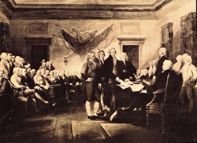 Declaracion de la Independencia de los EEUU