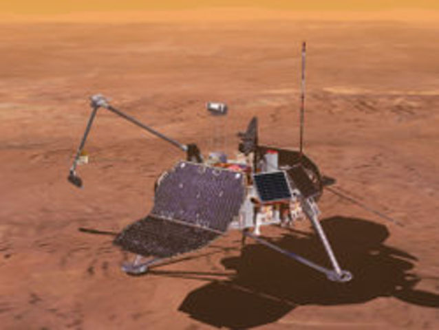 Mars Polar Landre