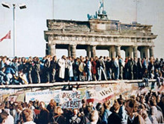 Caìda del muro de Berlìn