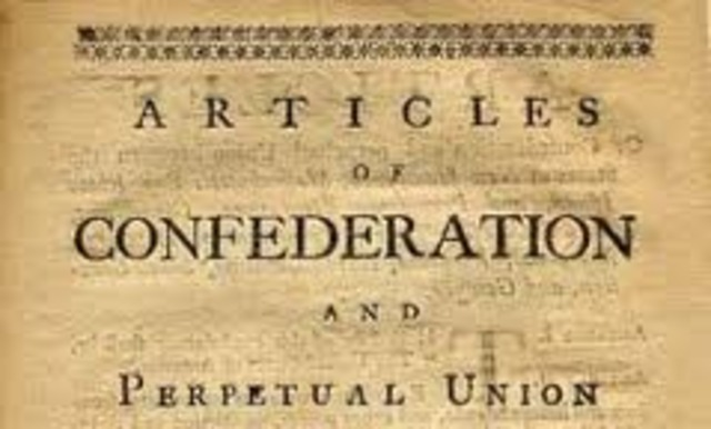 Articles of Confederation Signed