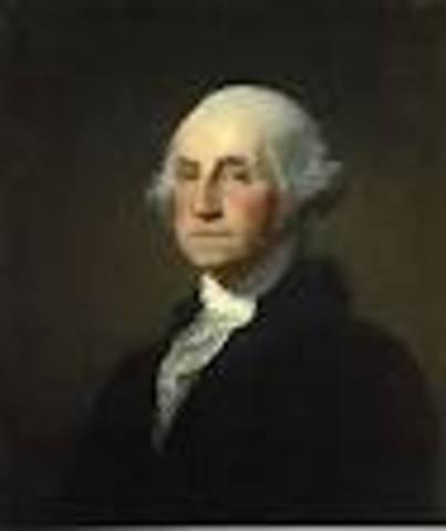 George Washington takes office as POTUS